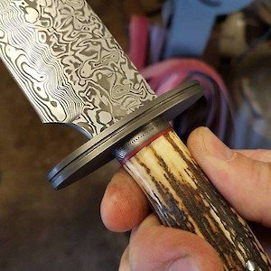 Exquisite Damasteel presentation Bowie
