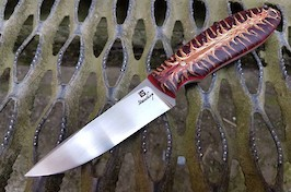 Midland Hunter in RWL34 and resin pinecone handle scales