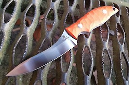 RWL34 Capreolus with layered orange and black G10
