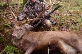 A mighty 14 pointer from the Scottish borders
