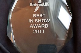 Knives UK award 2011