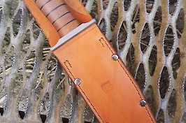 Ultimate KaBar leather sheath